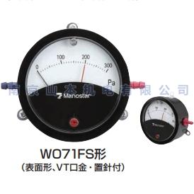 山本电机制作所 YAMAMOTO MANOSTAR 压力表WO71FS5E